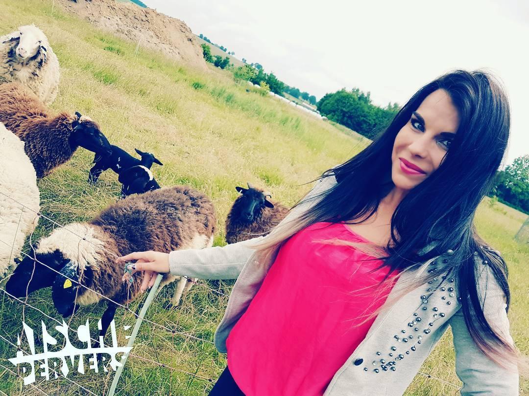 Ganz schön Scharf hier 😂🐑🤣 #tv #movie #model #modellife #bauersuchtfrau #bauer #land #green #instafit #instagood #fitfam #friends #animals #gymfreak #longhair #curvygirl #curvy #fashion #ootd #sun #love