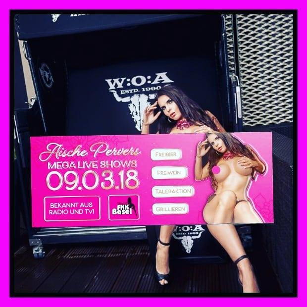 Morgen bin ich für Euch im @fkksaunabasel am Start. Es gibt 3 heisses Shows und Geschenke für alle. Also besucht mich und lasst uns zusammen feiern. #show #showgirl #stripteas #strip #model #pornstar #pornart #fkk #curvygirl #curvy #ch #basel #nude #fun #lifestyle #gogo #Party