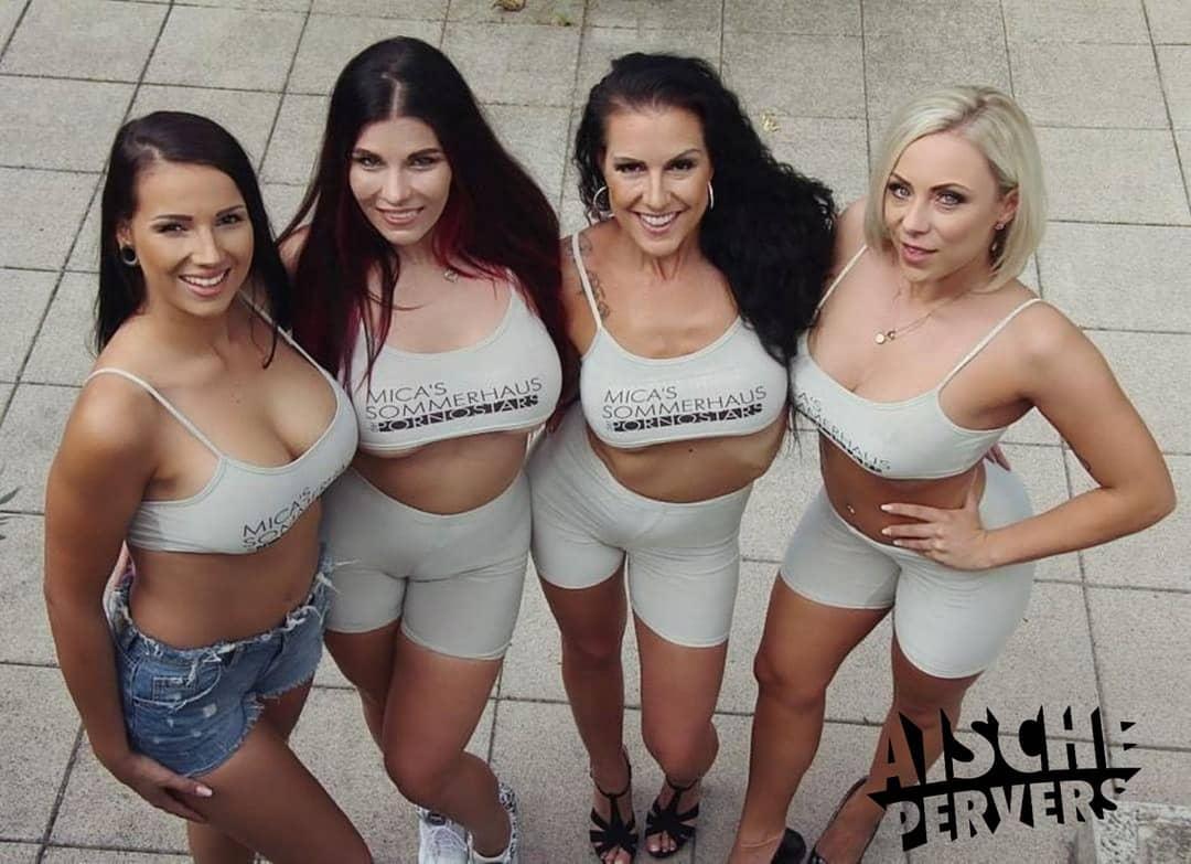 Heute startet das Sommerhaus der Pornostars auf @reality.lovers Lasst euch von dem gestellten Lächeln in die Kamera nicht  täuschen….mit einigen Ladys gab's extrem Beef…..und ich bin froh sie nicht so schnell wieder sehen zu müssen. 👊👊👊 #vr #virtualreality #sommerhaus #girls #fun #beef #friends #fakefriends #bitchfight #curvy #bikini #german